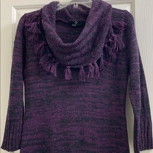 Ronni Nicole purple knit sweater dress med/large